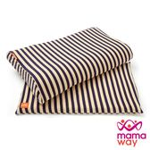 【mamaway媽媽餵】氧化鋅條紋三合一成長枕套