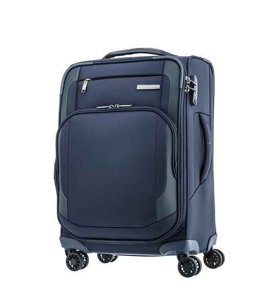 Samsonite  新秀麗 HEXEL 20吋 上掀式四輪登機箱 深藍色