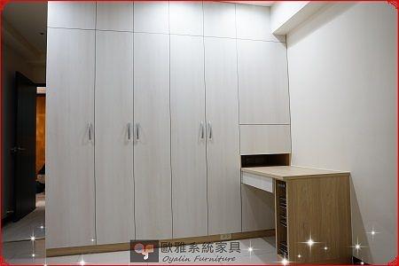 【歐雅系統家具】系統家具  全面客製化訂做 / 素淨純白系統衣櫃  原價:67144 特價:47127