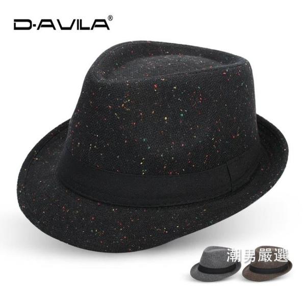 紳士帽禮帽女英倫復古爵士帽紳士帽正韓潮男戶外休閒遮陽帽個性春秋帽子