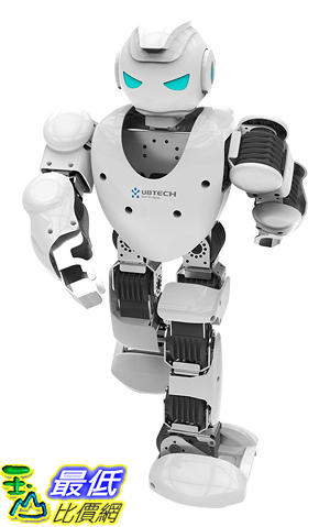 [美國直購] UBTECH Alpha 1S Intelligent Humanoid Robotic (White)