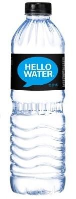 【Hello Water】竹炭水600mlX24瓶(箱)