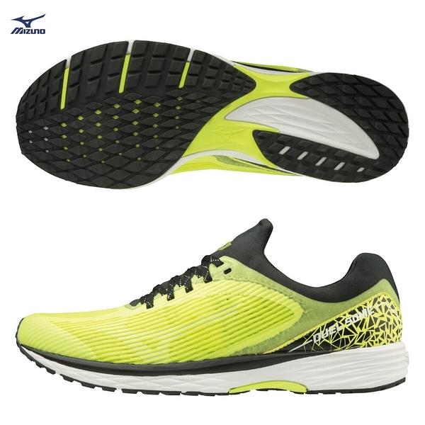 MIZUNO DUEL SONIC 男鞋 慢跑 路跑 耐磨 一般 高反發特性 黃【運動世界】U1GD203444
