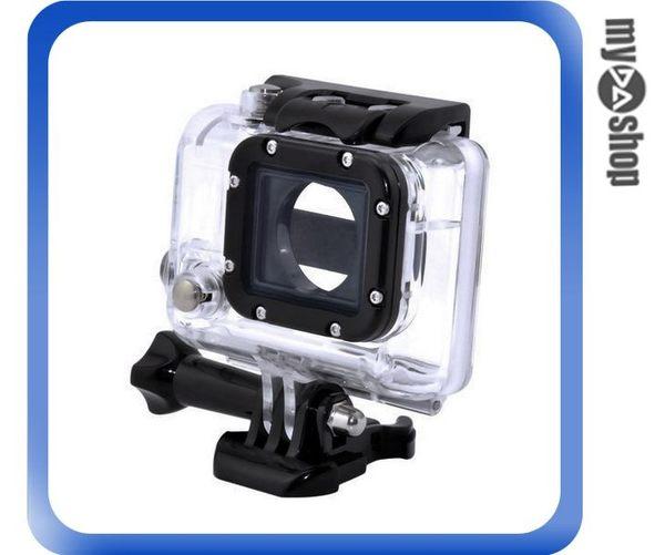 【3件任選88折】GoPro Hero3 運動相機保護殼 防水殼 防水罩 45M潛水殼 透明/紅/綠/藍