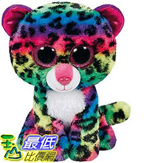 [8美國直購] Ty Dotty Leopard Plush, Multicolor, Medium