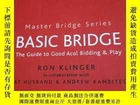 二手書博民逛書店BASIC罕見BRIDGE 英文橋牌書Y354 如圖 如圖 出版