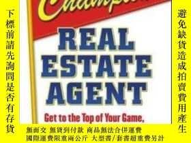 二手書博民逛書店The罕見Champion Real Estate Agent: