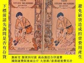 二手書博民逛書店NEW罕見STUDY READERS MARTIN 第2、5 冊