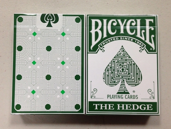 【USPCC撲克】Bicycle The hedge PLAYING CARDS 迷宮