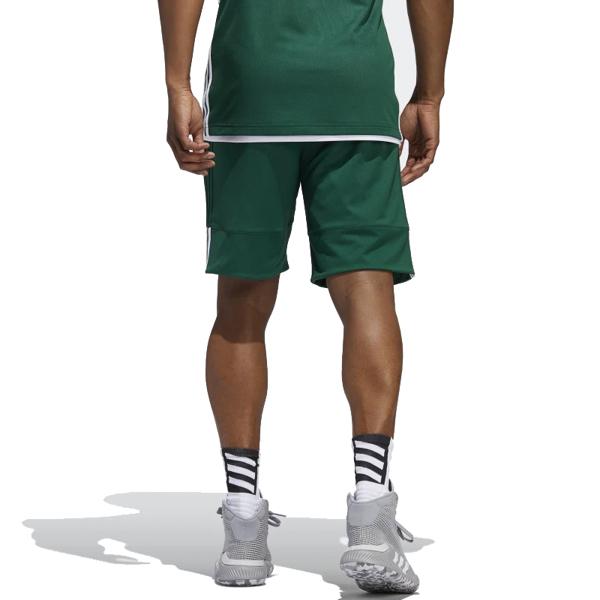 Adidas 3G Speed 男 綠色 白 短褲 籃球褲 雙面穿 籃球褲 球褲 透氣 短褲 刺繡 運動褲 DY6597