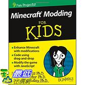 [美國直購] 2016 美國暢銷書 Minecraft Modding For Kids For Dummies
