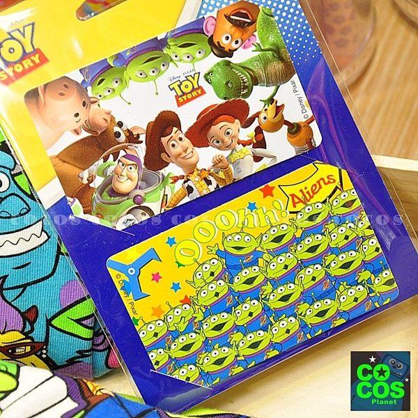 迪士尼悠遊卡貼票卡貼紙 玩具總動員巴斯光年胡迪三眼怪 悠遊卡貼票卡貼紙 COCOS DS025