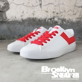 PONY 白紅 皮革 基本款 低筒 休閒鞋 男女款 (布魯克林) 63U1TS61RD