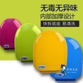 馬桶蓋 彩色馬桶蓋通用加厚坐便器蓋緩降老式圈座便蓋PP蓋板O U型V型配件T 多色
