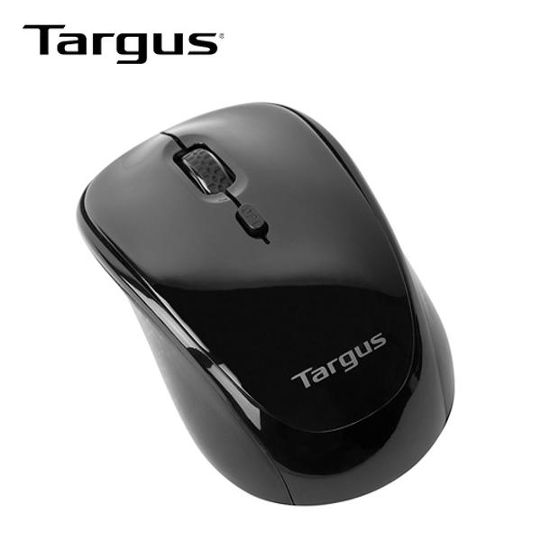 【Targus】AMW620 藍光無線四鍵滑鼠(黑)