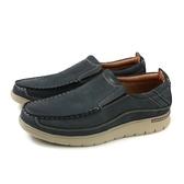 休閒鞋 懶人鞋 深藍色 男鞋 A8290-6-06-73 no123