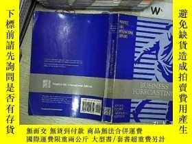 二手書博民逛書店BUSINESS罕見FORECASTING FIFTH EDITION 商業預測第五版Y203004