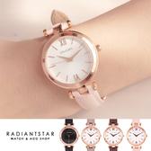 正韓STACCATO氣質的總和滿版刻紋真皮手錶【WST532】璀璨之星☆