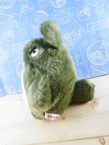 【震撼精品百貨】となりのトトロTotoro_手指絨毛娃娃-龍貓造型-綠色