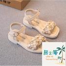 小孩涼鞋 女童涼鞋夏季兒童鞋子小女孩公主鞋中大童軟底防滑露趾【風之海】