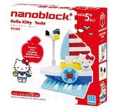尼德斯Nydus~* 日本正版 KAWADA 河田 nanoblock 三麗鷗 小積木 凱蒂貓 Hello kitty 小船 遊艇