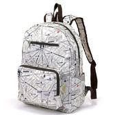 日本設計款 摺疊旅行後背包! 出國好良伴白色簡約