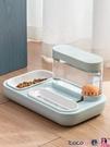 熱賣餵食器 貓咪飲水機流動不插電貓喝水用品寵物自動飲水器喂食器狗狗喝水碗 LX coco
