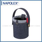 【愛車族購物網】日本NAPOLEX Light Fizz 牛仔布小型杯架置物袋