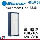 Blueair 480i & 490i 專用活性碳濾網(DaulProtection Filter/400 Series