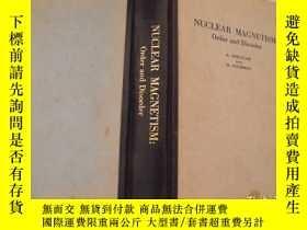 二手書博民逛書店NUCLEAR罕見MAGNETISM Order and Disorder核磁性:有序和無序【英文版】Y119