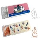 【日本正版】嚕嚕米 造型迴紋針 迴紋針 事務用品 小不點 慕敏 MOOMIN 417751 417768