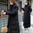 反季羽絨棉服棉衣女韓版寬鬆2020年新款冬裝外套長款過膝加厚棉襖 依凡卡時尚