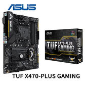 ASUS 華碩 TUF X470-PLUS GAMING AM4 主機板