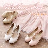 (限時↘結帳後980元)BONJOUR超好穿靜音高跟鞋(婚禮派對系列)☆1.5cm防水台穩足跟鞋(5色)
