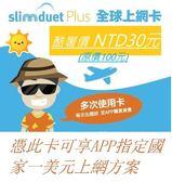 【SIM卡】 (購買此卡可享有限量優惠-以一美元下載指定香港資費至此上網卡)