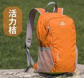 戶外運動登山徒步休閒雙肩背包20升