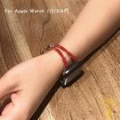 適用于apple watch金屬錶帶iwatch蘋果手表錶帶手鐲【雲木雜貨】