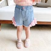 女童牛仔短褲 女童牛仔短褲洋氣夏裝兒童休閒褲女寶寶夏季褲子洋氣-Ballet朵朵