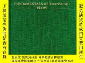 二手書博民逛書店Fundamentals罕見Of Transonic FlowY307751 Trevor H. Moulde