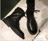 帥氣馬丁靴女2020新款英倫風秋季超火百搭網紅機車小短靴秋款靴子 (pinkq時尚女裝)