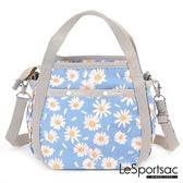 【南紡購物中心】LeSportsac - Standard 隨身小巧手提/兩用包 (小雛菊) 8056P F888