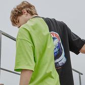宇航員口袋寬版T STAGE ASTRONAUT OVERSIZED TEE 黑螢光綠/白深藍 兩色