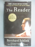 【書寶二手書T2/原文小說_JRR】The Reader_BERNHARD SCHLINK