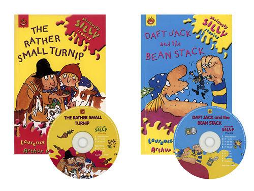 【麥克書店】The Rather Small Turnip & Daft Jack and The Bean Stack/2書+2CD
