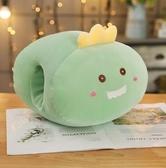 暖手捂 暖手抱枕插手捂手可愛恐龍倉鼠老鼠獨角獸卡通水果毛絨玩具布娃娃 小天後