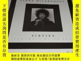 二手書博民逛書店2手英文罕見Linda McCartney Sixties 琳達