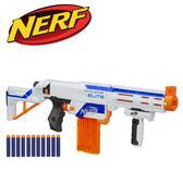【加贈子彈10發】NERF-菁英系列復仇者四合一衝鋒槍-白色款