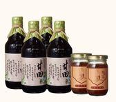 【台灣源味本舖】豆油伯甘田醬油天香麻辣6件組