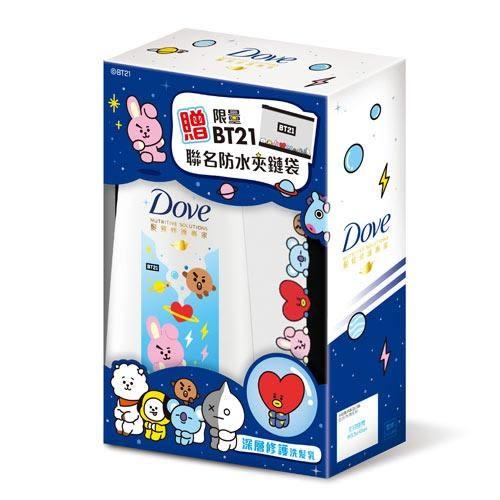 多芬深層修護洗髮乳xBT21限量組680ml【愛買】