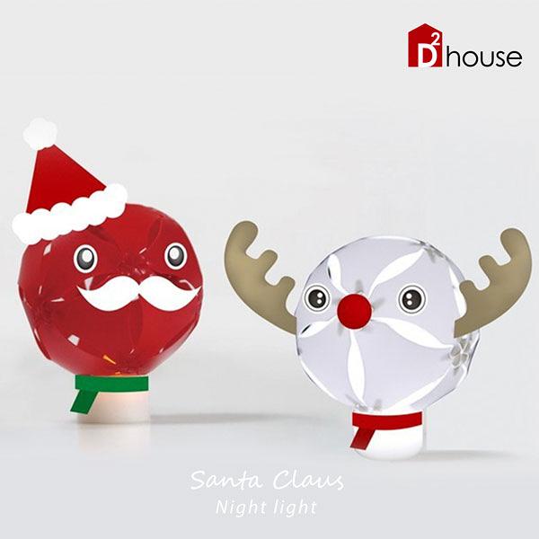 擁瓣燈飾-聖誕版小夜燈【DD House】